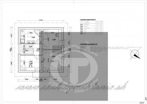 Ponuka - Na predaj - Hrubá stavba rodinného domu, garáže a terasy so všetkými inžinierskymi sieťami. obr2