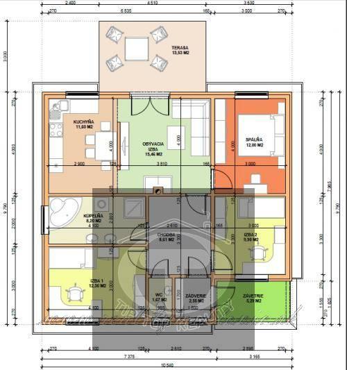 Ponuka - Na predaj - Nízkoenergetický dom OI L4 obr0