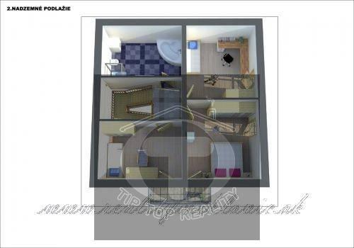 Ponuka - Na predaj - Hrubá stavba rodinného domu, garáže a terasy so všetkými inžinierskymi sieťami. obr0
